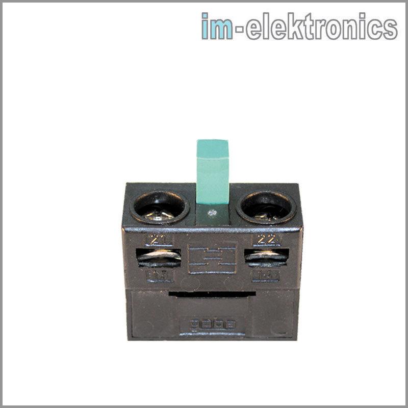 Schalteinsatz für geba Schlüsseltaster Schlüsselschalter M-1T//1S Nr 600.MS01.00